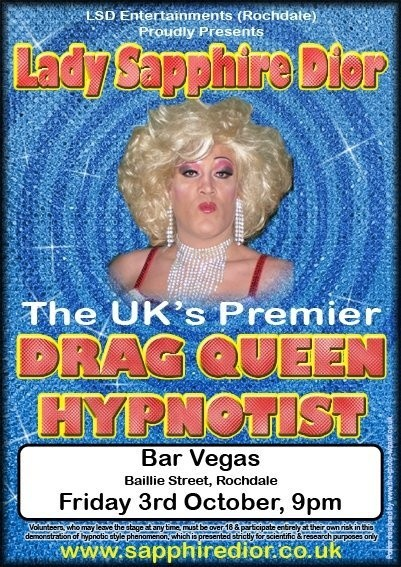 DRAG QUEEN COMEDY STAGE HYPNOSIS COURSE