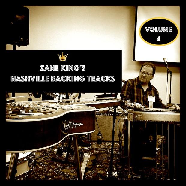 Zane King's Nashville Backing Tracks Volume Four