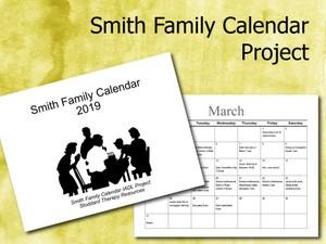 Smith Family Calendar IADL Project