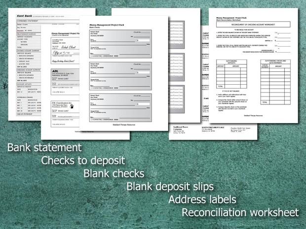 Money Management Project Pack Rehabilitation Tool