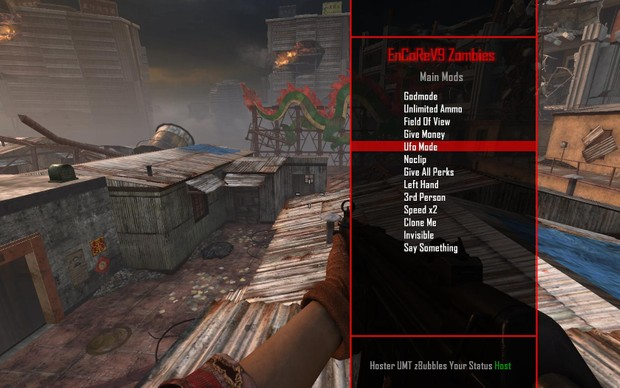 Black Ops 2 : Zombies Mod Menu - Admin menu Access ✓