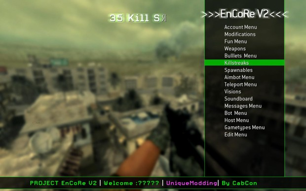 Cod 4 mod menu pc | Cod Mods and free points 2019  2019-02-26