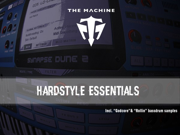 The Machine Hardstyle Essentials For Synapse Audio Dune 2
