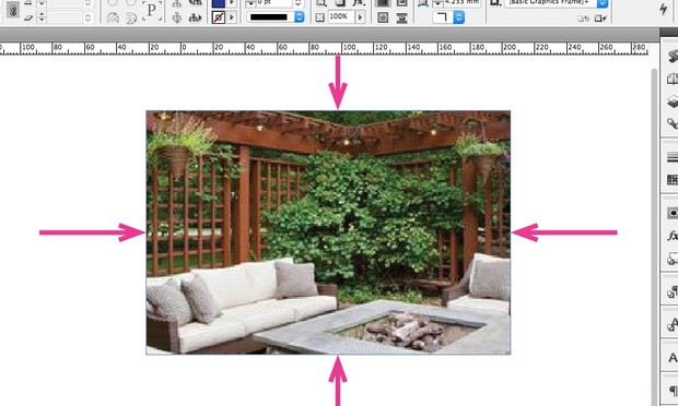 Set Page to Frame - InDesign Script