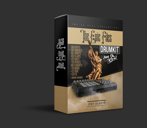 ZMY DaBeat - DRUMKIT VOL.2 - The Epic Files ✖️ Over 200 Exclusive Sounds ✖️ 2018