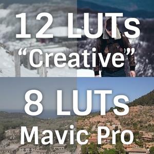 Pack 20 LUTs : Creative + Mavic Pro