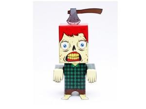 Woodbiter Zombie Papertoy