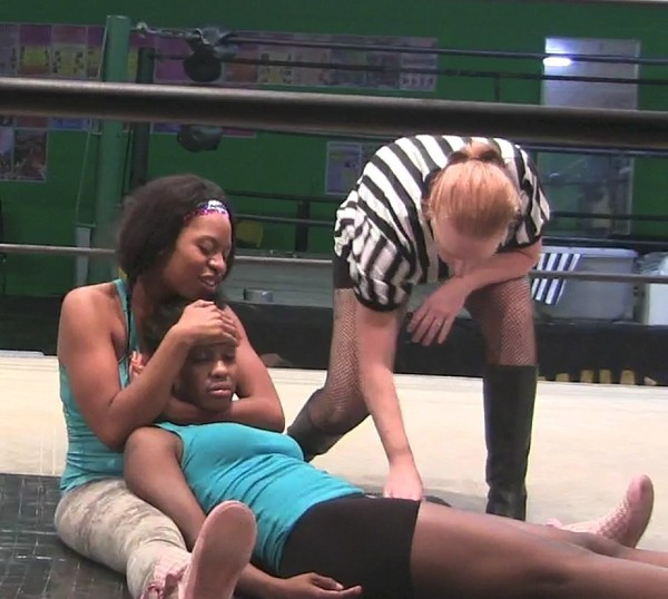 Women Fictitious Wrestling Sleeper Hold Compilation 2009-2012