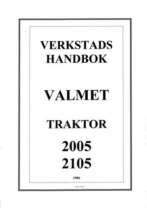 Valmet 2005 2105 korjaamokäsikirja
