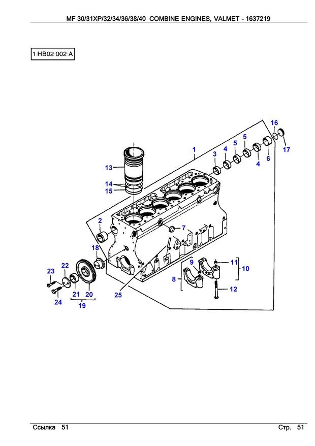 Valmet 611 dsl moottori varaosakirja