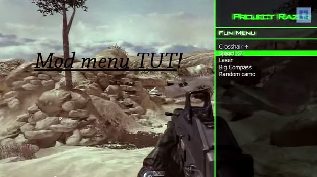 How to get menus on PS3 With out Jailbreak (MW2,COD4, WAW & GTA + Menus