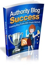 Authority Blog Success
