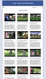 Lawn Care Video Site Builder