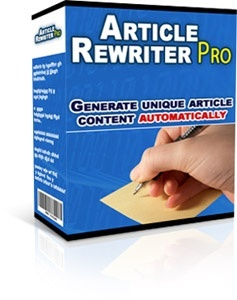 Article Rewriter Pro! MRR Included
