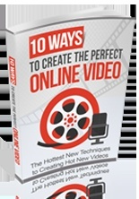 10 Ways To Create Perfect Online Video! Resale Right Product