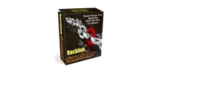 Backlinks SuperCharger (Software) with Master Resell Right