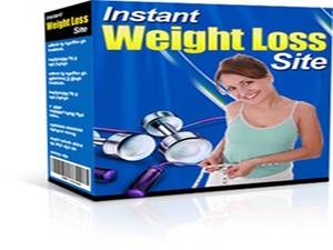 Instant Weight Loss Mini Site (Including Master Resell Right)