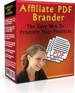Affiliate PDF Brander! MRR