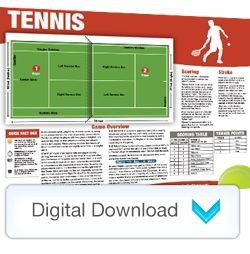 Digital - Sports Mini Poster Tennis