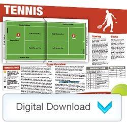 Digital - Sports Mini Poster Tennis