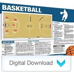 Digital - Sports Mini Poster Basketball