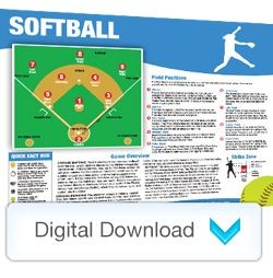 Digital - Sports Mini Poster Softball