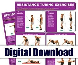 Digital - Resistance Tubing Mini Posters