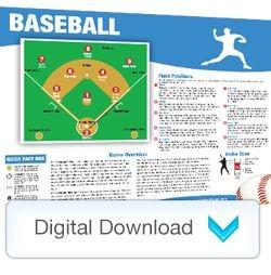 Digital - Sports Mini Poster Baseball
