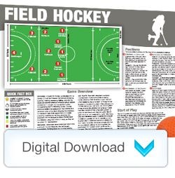 Digital - Sports Mini Poster Field Hockey