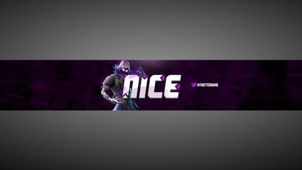 - fortnite youtube banner