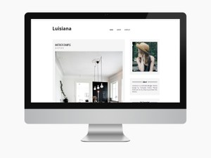 Luisiana - Blogger Theme