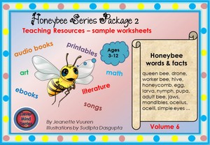 PRODUCT EXAMPLES: HONEYBEE'S COUNTING BOOK VOLUME 6 PACKAGE 2 LANCSCAPE