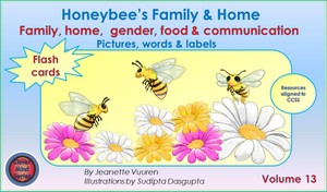EBOOK HONEYBEE'S FAMILY & HOME FLASH CARDS VOLUME 13