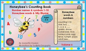 EBOOK HONEYBEE'S COUNTING BOOK VOLUME 6 (AGES 3-5)