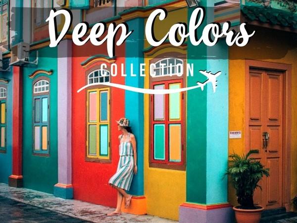 Deep Colors - 8 PHONE Lightroom presets