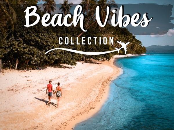 Beach Vibes  - 8 PHONE Lightroom presets