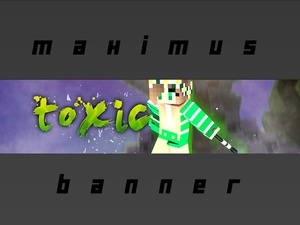 Banner (Minecraft Or 3D Art)