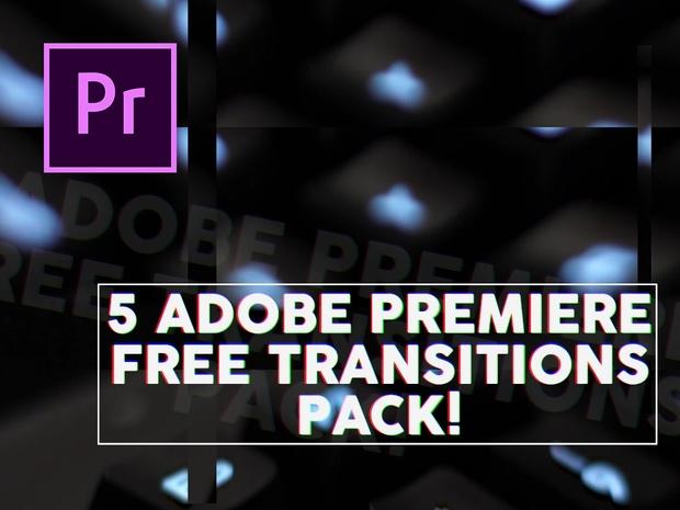 5 AWESOME FREE Adobe Premiere TRANSITIONS Adobe Premiere Pro CC 2018 Tutorial