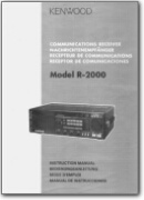 Kenwood R-2000 Shortwave Receiver User manual