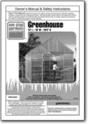 Installation guide for the Harbor Freight Model 93358 greenhouse