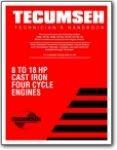 Tecumseh Model VH80 VH100 HH80 HH100 HH120 OH120-180 Technicians Handbook
