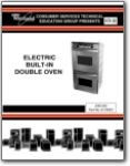 Whirlpool Double Oven Electronic Controlled GBD-RBD - Installation and Service Manual