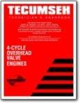 Tecumseh 4 Cycle OHV Technicians Handbook Several Models