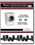 Whirlpool Duet Washer GHW Series - Service Manual
