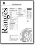 GE Gas Range XL44 - User Manual