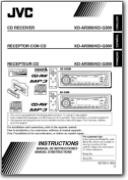 User manual for the JVC KD-G300 car stereo