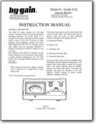Hy Gain Ham IV Antenna Rotator Instruction Manual