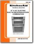 Kitchen Aid Wall Oven KEMS378S 308 KEMC378K 308K - Service Manual