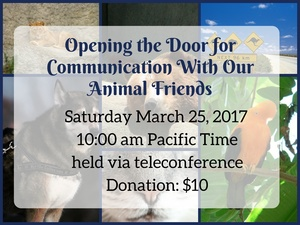 Opening the Door for Communication with Our Animal Friends