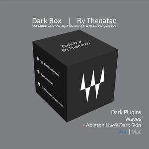 Dark Box - Dark Skins For Waves Plugins  By Thenatan